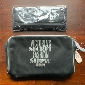 Victoria's Secret Make Up Bag w Brushes NWT